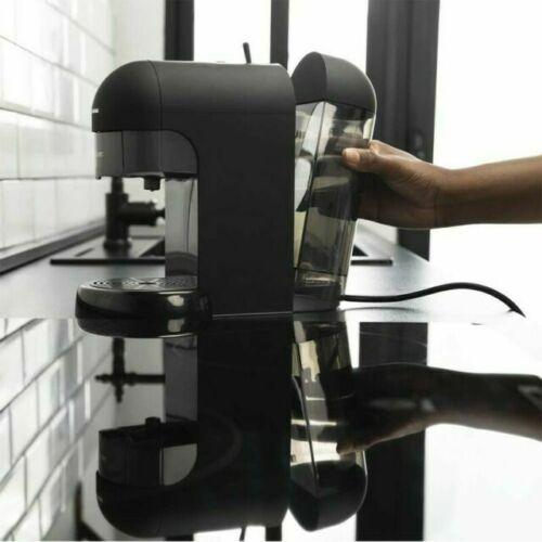Dep/ósito agua 600 ml Apta para caf/é molido y c/ápsulas monodosis ESE Filtro apto lavavajillas 19 Bares de presi/ón Cecotec Cafetera express Cumbia Capricciosa Black